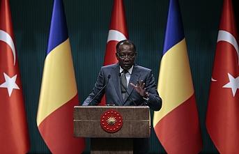 Çad lideri Itno ve Erdoğan'dan işbirliği açıklaması