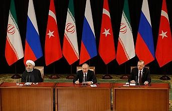 Üçlü Zirve'de liderler siyasi çözümden umutlu