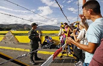 Venezuela - Kolombiya sınırı kapatıldı