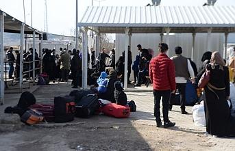315 bin Suriyeli ülkelerine döndü