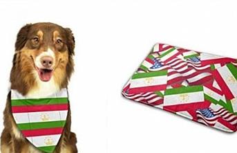 Amazon, Tacik bayrağı desenli köpek önlüğünü satışa çıkardı