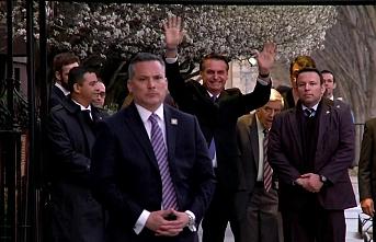 Brezilya liderinin ilk yurtdışı ziyareti CIA'e oldu, oğlu övündü