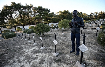 Çanakkale'de savaşan Senegalliler Müslüman mezarlığına taşınsın