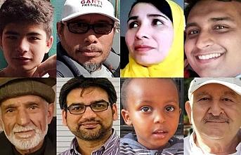 Christchurch camii saldırısındaki şehitlerin yüzleri
