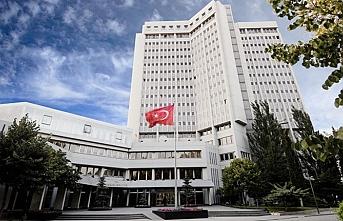 Dışişleri Bakanlığı Yunanistan'a gereken cevabı verdi