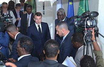 Fransa Cumhurbaşkanı Macron Etiyopya'da