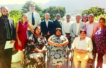 Güney Afrika'ya Türk başkan adayı