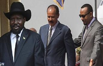 Güney Sudan-Etiyopya-Eritre üçlü zirvesi sona erdi