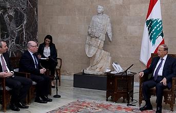 Hizbullah'ı terör listesine alan İngiltere'nin bakanı Lübnan'da