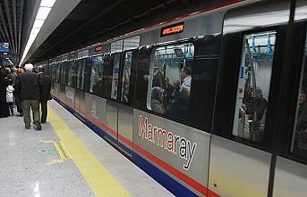 İlk uluslararası tren Marmaray'dan geçti