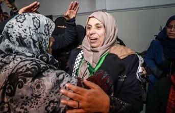 İsrail 60 yaşındaki Gazzeli kadını 2 yıl sonra serbest bıraktı