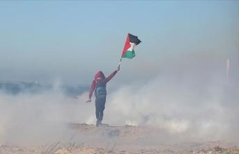 İsrail Gazze'de 3 Filistinliyi yaraladı