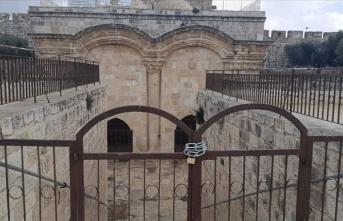 İsrail Kamu Güvenliği Bakanı Gilad'dan Rahmet Kapısı'ndaki mescidi kapatma sinyali