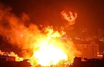 İsrail uçakları Heniyye'nin Gazze'deki ofisini bombaladı