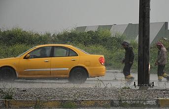 Kerkük'te aşırı yağış hayatı olumsuz etkiledi