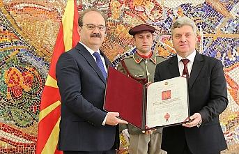 Kuzey Makedonya'dan TİKA Başkanı Çam'a liyakat nişanı