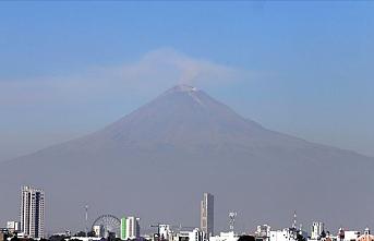 Meksika'da korkutan yanardağ patlaması