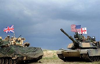 NATO-Gürcistan ortak askeri eğitimi Tiflis'te başladı