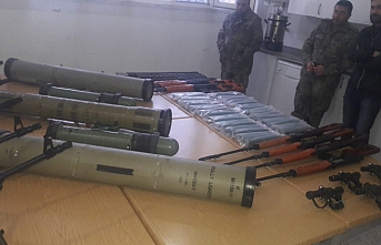 ÖSO Münbiç bölgesine gönderilen silahları ele geçirdi