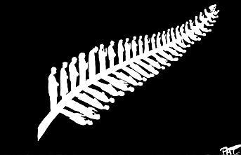Pat Campbell'den Yeni Zelanda'da şehit olanları simgeleyen çizim