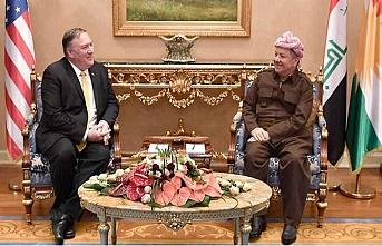 Pompeo Irak Başbakanı ve Mesut Barzani ile görüştü