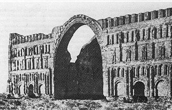 Sasani'lerden kalan tarihi kasır çöktü