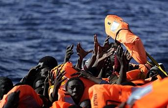 Şişme göçmen botu patladı: 45 ölü