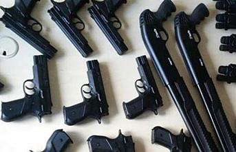 Sosyal medya üzerinden silah ticareti operasyonuna operasyon