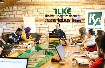 STK Yöneticileri Kurumsal Gelişim Eğitiminde Buluştu