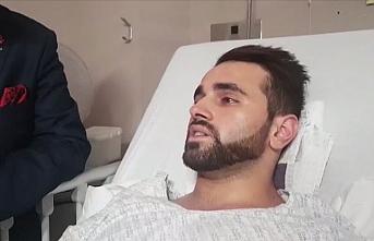 Terör saldırısında yaralanan Türk vatandaşı saniyelerle kurtuldu