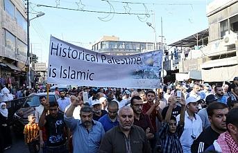 Ürdünlülerden Kudüs ve Mescid-i Aksa'ya destek