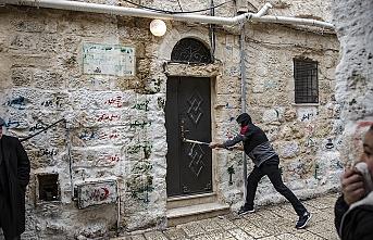 Yahudi yerleşimciler Kudüs'te Filistinli ailenin evine el koydu
