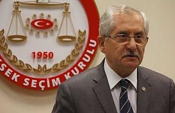 YSK Başkanı Güven açıklama yaptı