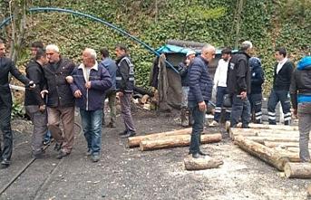 Zonguldak'ta maden göçtü, 1 kişi mahsur