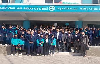 Afganistan Herat'ta Maarif Vakfı eğitime başladı