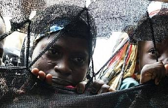 Batı Afrika'da çocuk köleler insan tacirlerinin elinden kurtarıldı