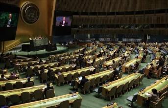 BM Genel Kurulunda, Türkiye'nin önderliğinde sunulan Yeni Zelanda kararına tam destek