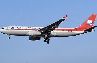 Çin'in Sichuan Airlines havayolu şirketi Türkiye'ye ilk seferini yaptı