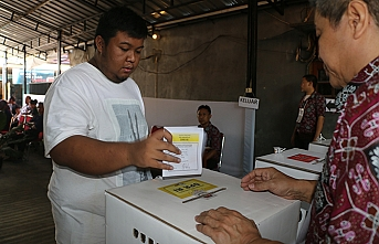 Endonezya'da oy kullanma işlemi sona erdi