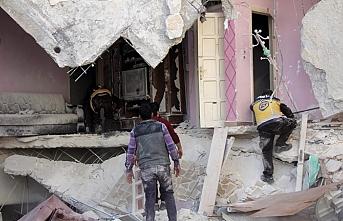 İdlib'de bu sabah 15 sivil hayatını kaybetti