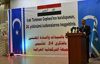 Irak Türkmen Cephesi'nin 24. kuruluş yılı Kerkük'te kutlandı