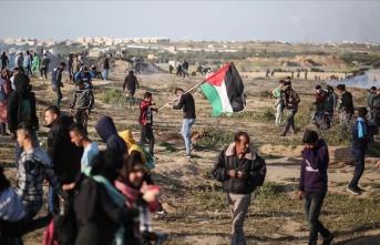 İsrail askerleri Gazze'de Filistinli bir çocuğu şehit etti