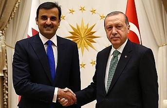 Katar Emiri'nden Erdoğan'ın sözlerine destek