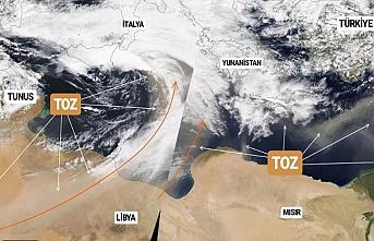 Kuzey Afrika tozu geliyor. Meteoroloji uyardı