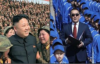 Moğolistan Devlet Başkanı'ndan Kim Jong-un'a sır hediye