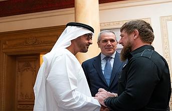 Muhammed bin Zayed, Çeçen Devlet Başkanını kabul etti