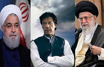 Pakistan Başbakanı Han, Ruhani ile Tahran'da buluştu