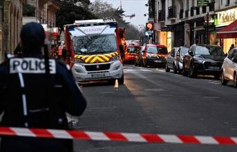 Paris'te bina yangını
