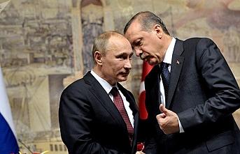 Putin'den Başkan Erdoğan'a telefon