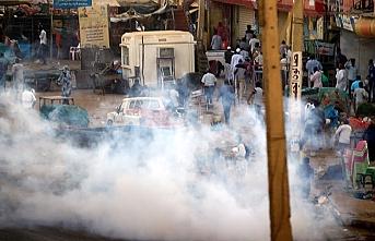 Sudan'da protestolara müdahale